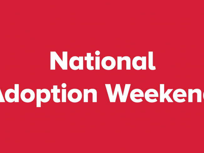 National Adoption Weekend